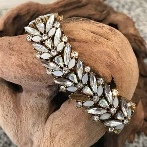 J Crew Rhinestone Bracelet